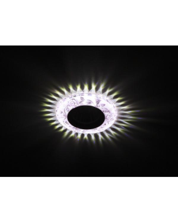 DK LD16 PK/WH Светильник ЭРА декор cо светодиодной подсветкой MR16, розовый (50/1400)