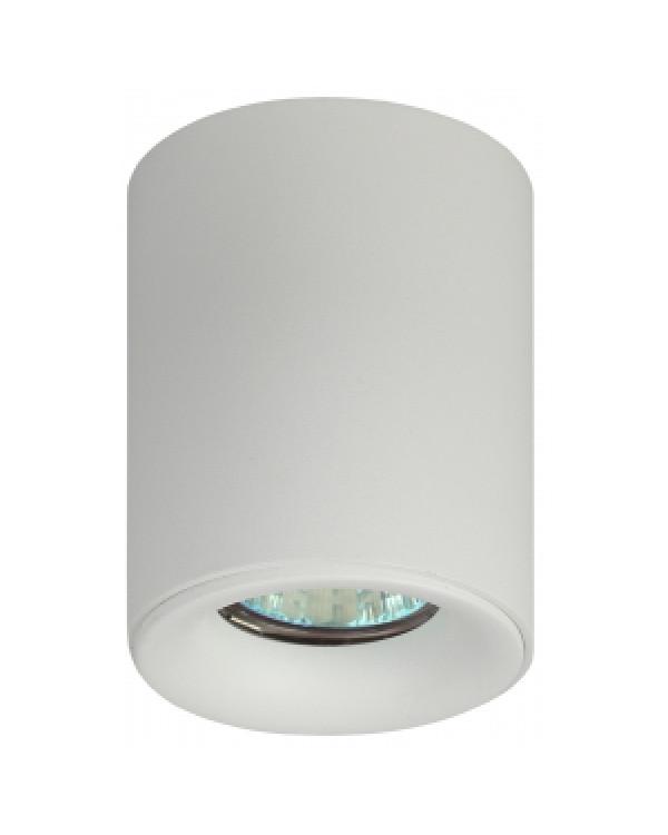 OL1 GU10 WH Подсветка ЭРА накладной, GU10, D80*100мм, белый (50/700), OL1 GU10 WH