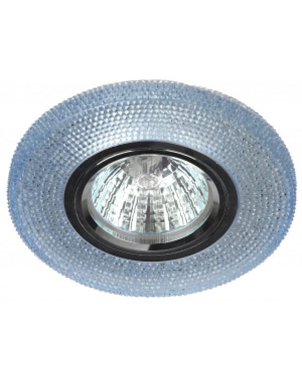 DK LD1 BL Светильник ЭРА декор cо светодиодной подсветкой, голубой (50/1750), DK LD1 BL