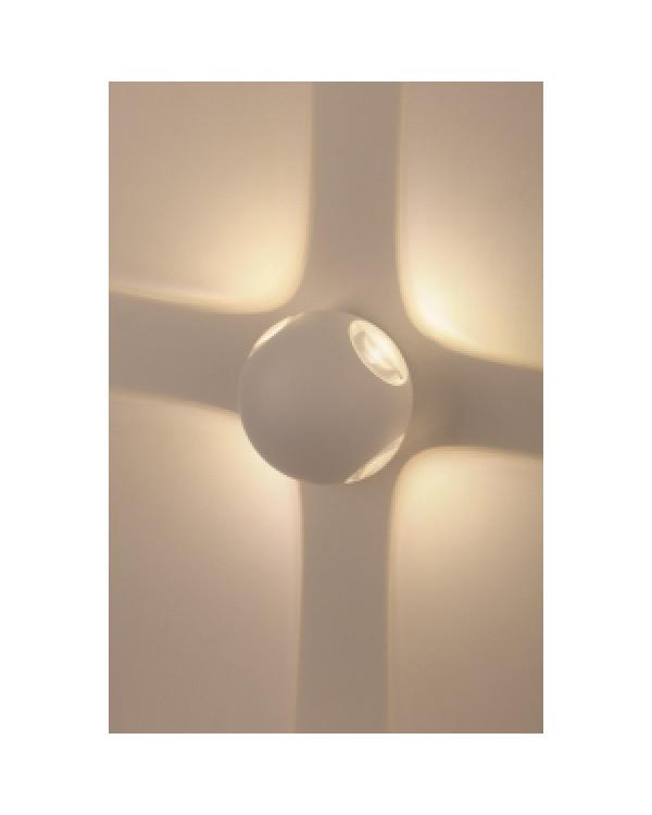WL10 WH Подсветка ЭРА Декоративная подсветка светодиодная ЭРА 4*1Вт IP 54 белый (20/400), Б0034608