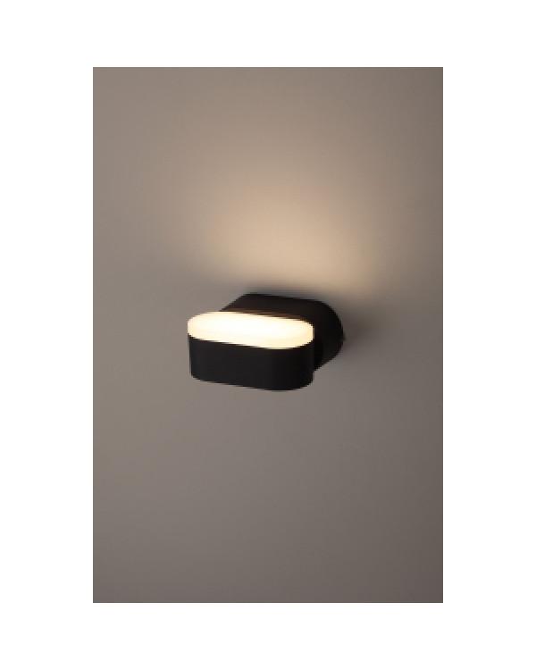 WL9 BK Подсветка ЭРА Декоративная подсветка светодиодная 6Вт IP 54 черный (20/800), Б0034606