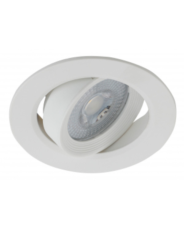 KL LED 22A-5 4K WH Светильник ЭРА светодиодный круглый поворотн. LED SMD 5W 4000K, белый (100/1600), KL LED 22A-5 4K WH