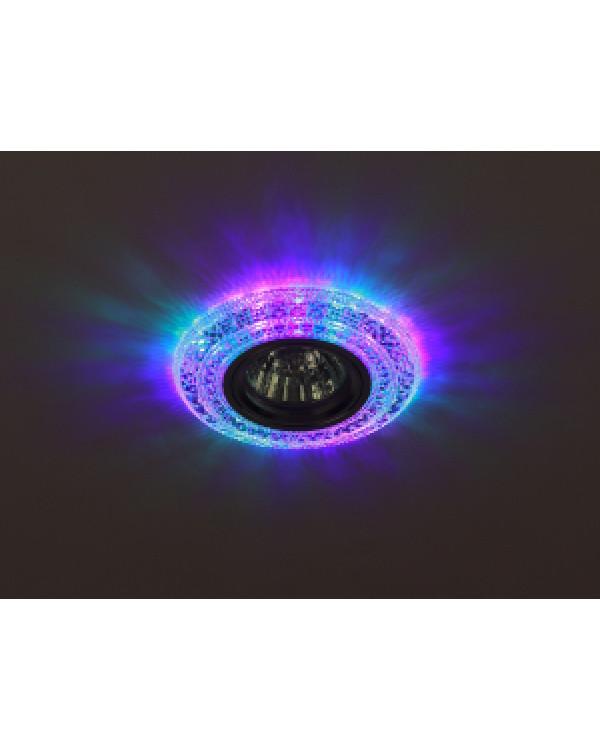 DK LD3 SL/RGB Светильник ЭРА декор cо светодиодной подсветкой( мультиколор), прозрачный (50/1400)