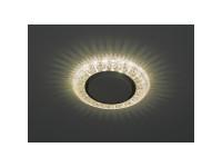 DK LD22 CHP/WH Светильник ЭРА декор cо светодиодной подсветкой Gx53, шампань (50/800)