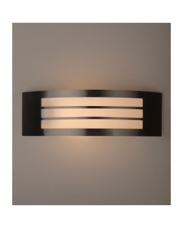 WL20 Подсветка ЭРА Декоративная подсветка E27 MAX40W IP44 хром/белый (20/240), Б0034619