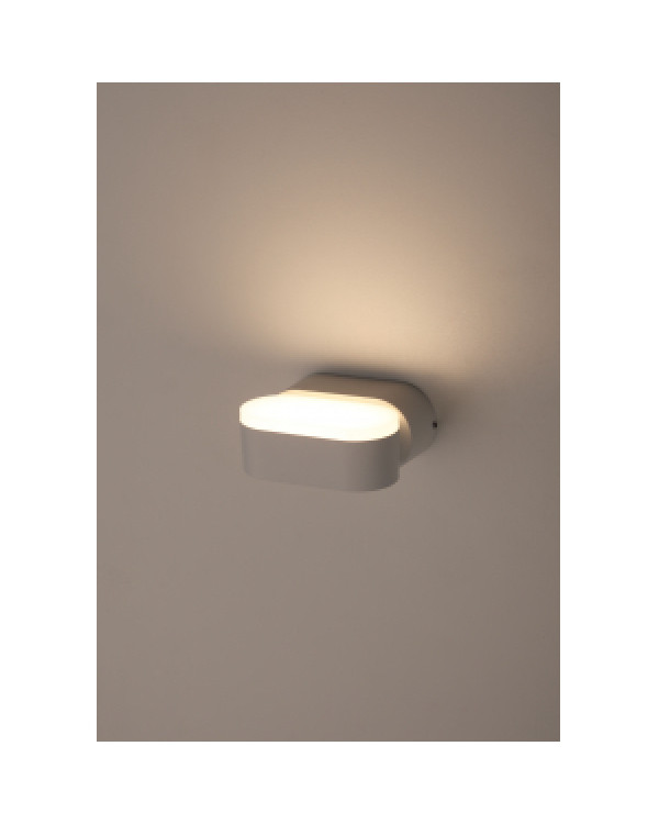 WL9 WH Подсветка ЭРА Декоративная подсветка светодиодная 6Вт IP 54 белый (20/800), Б0034607