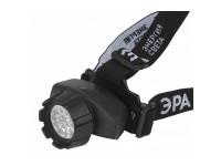 GB-603 Фонарь ЭРА налобный [14xLED, 3xAAA, 4 реж., черный, бл] (10/60/480)