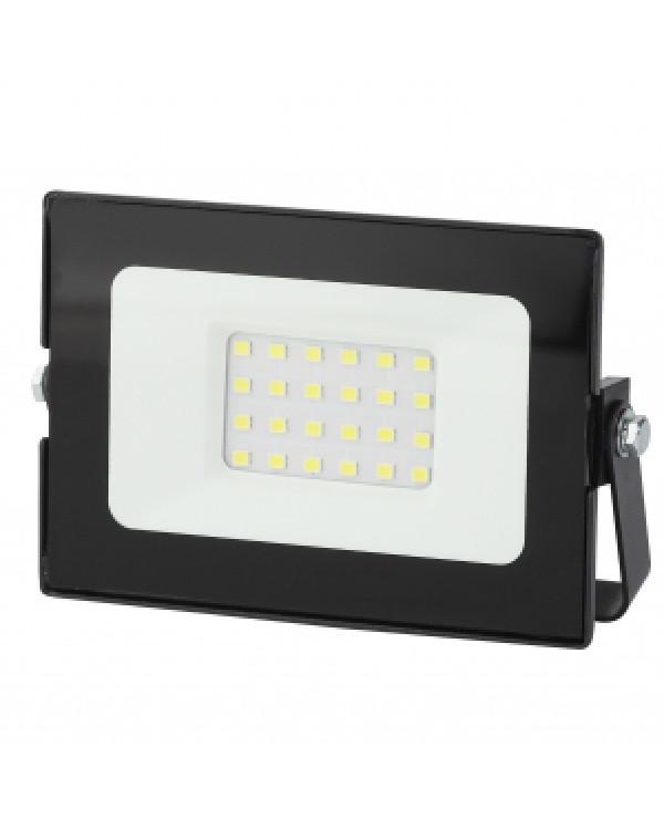 LPR-021-0-40K-020 ЭРА Прожектор светодиодный уличный 20Вт 1600Лм 4000К 125х85х50 (80/1280), LPR-021-0-40K-020