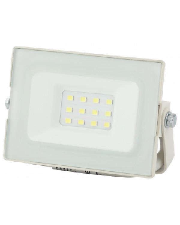 LPR-031-0-65K-010 ЭРА Прожектор светодиодный уличный 10Вт 800Лм 6500К 95x62x35 белый (80/2400), LPR-031-0-65K-010