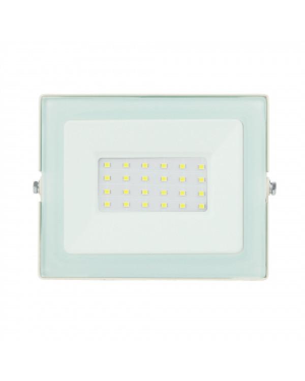 LPR-031-0-65K-030 ЭРА Прожектор светодиодный уличный 30Вт 2400Лм 6500К 139x104x35 белый (50/1200), LPR-031-0-65K-030