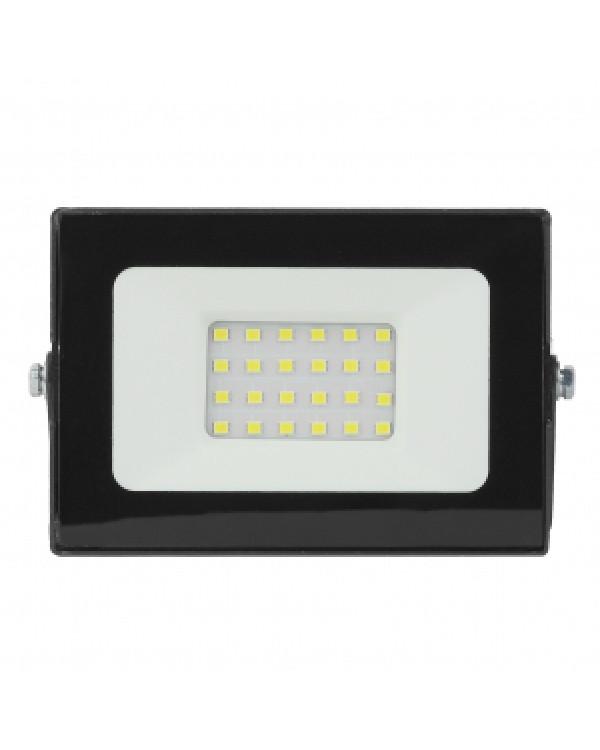 LPR-021-0-65K-020 ЭРА Прожектор светодиодный уличный 20Вт 1600Лм 6500К 125х85х50 (80/1440), LPR-021-0-65K-020