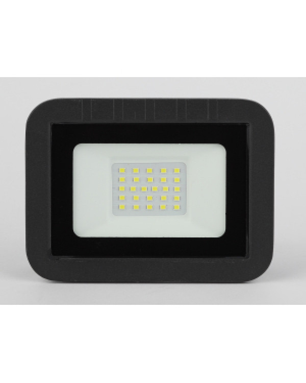 LPR-061-0-65K-020 ЭРА Прожектор светодиодный уличный 20Вт 1900Лм 6500К 135x100x28 (50/1400), LPR-061-0-65K-020