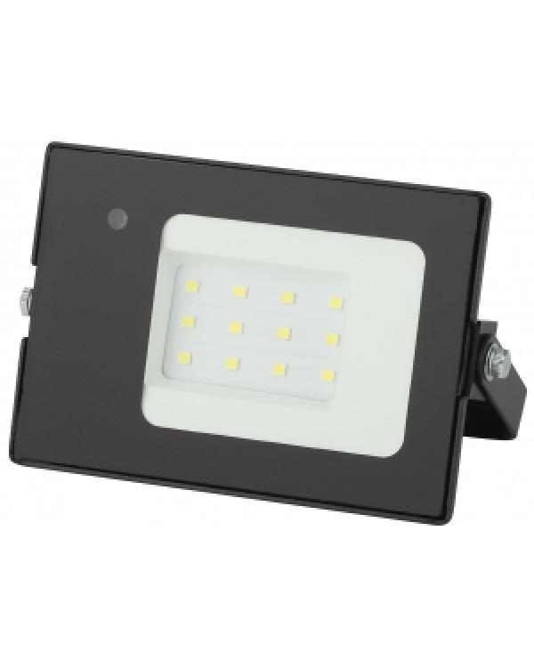 LPR-041-1-65K-010 ЭРА Прожектор светодиодный уличный 10Вт 700Лм 6500К датчик нерегулир (80/1280), LPR-041-1-65K-010