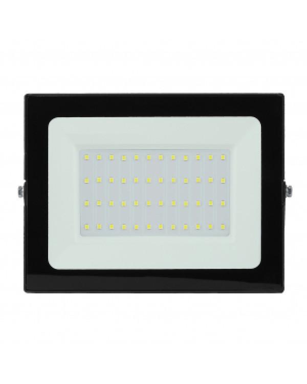 LPR-021-0-65K-050 ЭРА Прожектор светодиодный уличный 50Вт 4000Лм 6500К 183х131х36 (30/540), LPR-021-0-65K-050