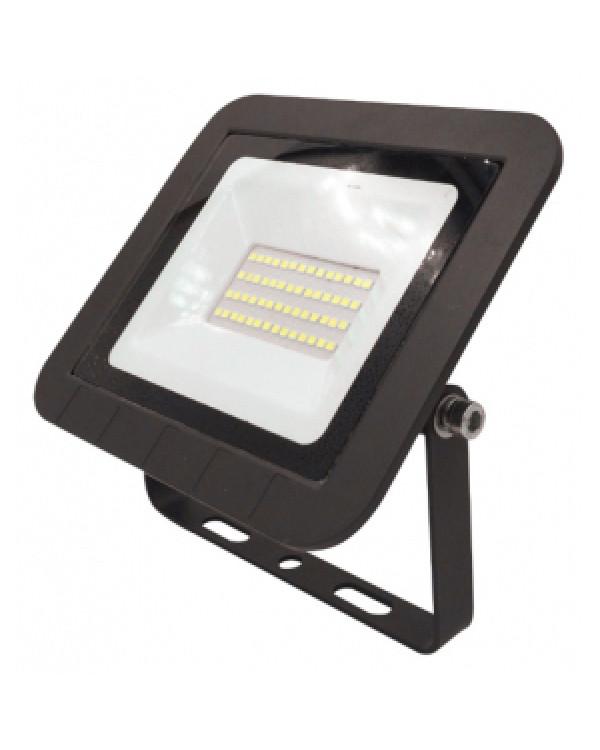 LPR-061-0-65K-030 ЭРА Прожектор светодиодный уличный 30Вт 2800Лм 6500К 160x135x30 (30/720), LPR-061-0-65K-030