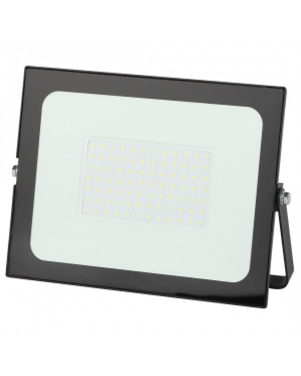 LPR-021-0-65K-100 ЭРА Прожектор светодиодный уличный 100Вт 8000Лм 6500К 251x183x36 (10/360), LPR-021-0-65K-100
