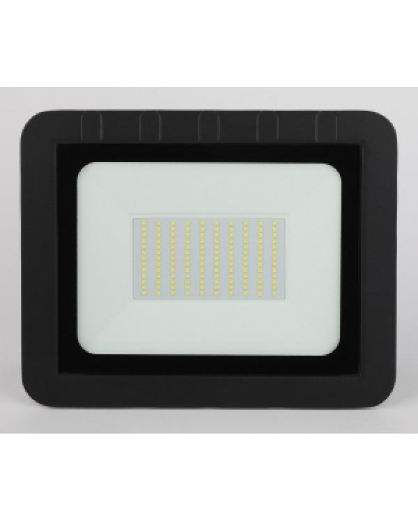 LPR-061-0-65K-100 ЭРА Прожектор светодиодный уличный 100Вт 9500Лм 6500К 290x230x36 (10/250), LPR-061-0-65K-100