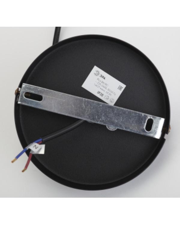 PL4 BK/RC Подвес ЭРА металл, E27, max 60W, d203 мм, шагрень черный/медь (10/210), PL4 BK/RC