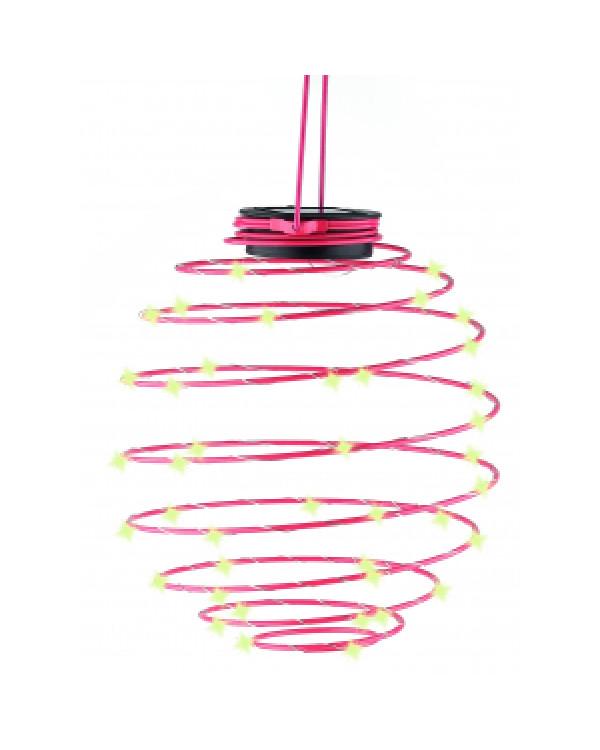 ERASF012-29 ЭРА Садовый подвесной светильник Спираль на солнечной батарее, 22 см (12/420), ERASF012-29