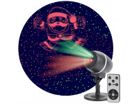 ENIOP-06 ЭРА Проектор Laser Танцующий Санта, IP44, 220В (12/180)