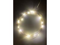 ENIN-2B ЭРА Гирлянда LED Нить 2 м теплый свет, АА, IP20 (100/4800)