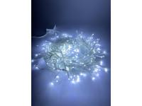 ENIN - WC ЭРА Гирлянда LED Мишура 3,9 м белый провод, холодный свет, 220V (24/576)