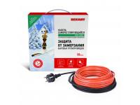 Греющий саморегулирующийся кабель (в трубу) 10HTM2-CT ( 4м/40Вт) REXANT
