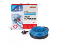 Греющий саморегулирующийся кабель на трубу 15MSR-PB 10M (10м/150Вт) REXANT