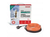 Греющий саморегулирующийся кабель (в трубу) 10HTM2-CT (20м/200Вт) REXANT