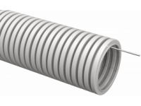 Труба гофр.ПВХ d 16 с зондом (10 м) IEK
