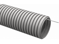 Труба гофр.ПВХ d 16 с зондом (50 м) IEK