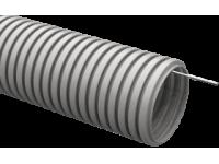 Труба гофр.ПВХ d 16 с зондом (100 м) ИЭК