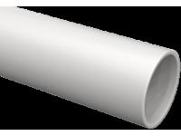 Труба гладкая жесткая ПВХ d20 ИЭК серая (93м),3м