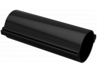 Труба гладкая разборная d=110мм черная (3м) IEK