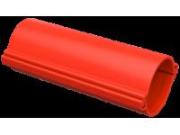 Труба гладкая разборная d=110мм красная (3м) IEK