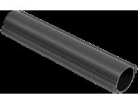 Труба гладкая разборная d=160мм черная (3м) IEK