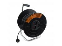 Удлинитель на катушке 40 м 2х0,75 мм² (3 розетки) PROconnect