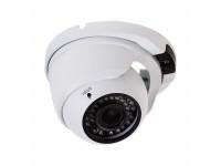 Купольная уличная камера IP 2.1Мп Full HD (1080P), объектив 2.8- 12 мм., ИК до 30 м., PoE + Звук