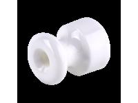 WL18-17-02/ Комплект изоляторов без винта 100 шт. (белый) Ретро