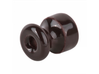 WL18-17-02/ Комплект изоляторов без винта 50 шт. (коричневый) Ретро