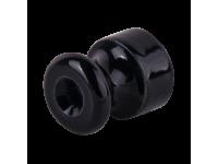 WL18-17-01/ Комплект изоляторов с крепежом 10 шт. (черный) Ретро
