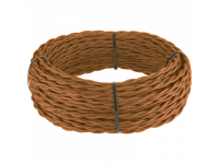 Ретро кабель витой 2х1,5 (медный) под заказ 20 м