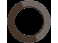 WL21-frame-01/ Рамка на 1 пост (Коричневый)