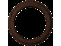 WL15-frame-01 / Рамка на 1 пост (венге)
