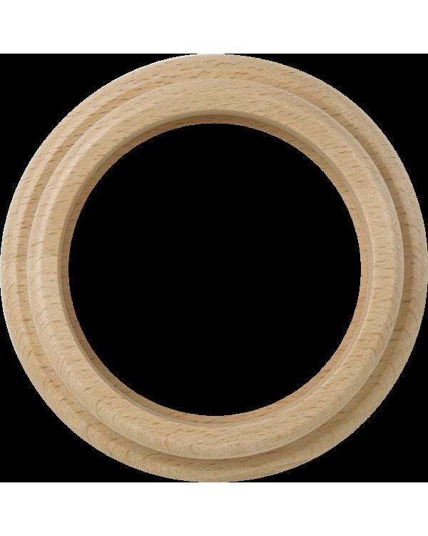 WL15-frame-01 / Рамка на 1 пост (светлый бук)