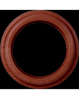 WL15-frame-01 / Рамка на 1 пост (итальянский орех)