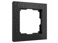 W0012408/ Рамка на 1 пост Hammer (черный)