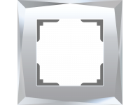 W0011220/ Рамка на 1 пост Diamant (зеркальный)