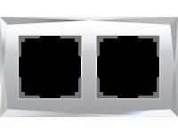 W0021220/ Рамка на 2 поста Diamant (зеркальный)